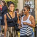 Willow Smith and Jada Pinkett – Shopping in Calabasas