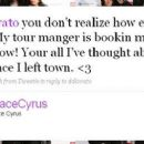 Demi Lovato and Trace Cyrus