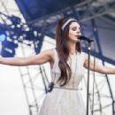 Lana del Rey performs at Eurockeennes Music Festival on July 1, 2012 in Belfort, France