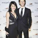 Pregnant Marion Jolles with Romain Grosjean (Jan 2013)