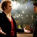 Larten Crepsley (John C. Reilly) with Darren Shan (Chris Massoglia) in the scene of Cirque du Freak: The Vampire's Assistant.