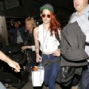 Kristen Stewart Arriving In Lax