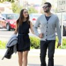 Jesse Metcalfe walks hand in hand with girlfriend Cara while out and about in West Hollywood, California on January 7, 2015
