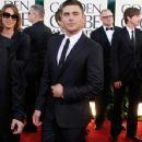 Zac Efron at the 68th Annual Golden Globe Awards at The Beverly Hilton hotel January 16, 2011  Beverly Hills
