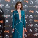 Manuela Velles- Goya Cinema Awards 2017 - Red Carpet - 399 x 600