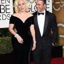 Lady Gaga and Taylor Kinney At 73rd Golden Globe Awards (2016)