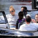 Jennifer Lopez in Bikini with Alex Rodriguez – Out in Idaho