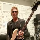 Duff McKagan makes an appearance at the Fender booth during the 2019 NAMM Show at the Anaheim Convention Center on January 26, 2019 in Anaheim, California - 439 x 600