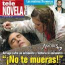 Eduardo Yáñez, Erika Buenfil, Amores verdaderos - Tele Novela Magazine Cover [Spain] (5 November 2012)