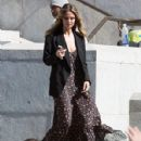 Heidi Klum spotted on the set of 'Ocean's Eight' in Los Angeles, California on March 6, 2017 - 428 x 600