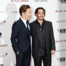 Benedict Cumberbatch and Johnny Depp -October 11, 2015-'Black Mass' - Virgin Atlantic Gala - BFI London Film Festival