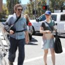 Rachel McAdams: leaves the Farmers Market in Studio City