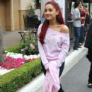 Ariana Grande was spotted at The Grove in Los Angeles yesterday, May 2