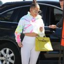 Jennifer Lopez in Skin-Tight Gym Outfit – Arrives at the gym in Miami
