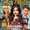 Britt Robertson, Lucy Hale, Jensen Ackles, Sam Evans - series mag Magazine Cover [France] (May 2012)