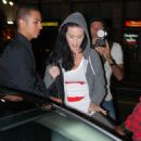 Katy Perry In Ripped Jeans Headed To Katsuya Restaurant - Sep 8 2009