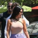 Kourtney Kardashian and Kris Jenner – Spotted while out in Calabasas