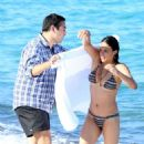 Michelle Rodriguez in Bikini on the beach in St. Tropez - 454 x 675