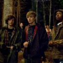 John Magaro as Alex Dunkelman, Max Thieriot as Bug and Denzel Whitaker as Jerome King in My Soul to Take.