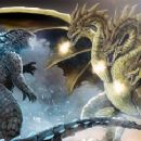 The Battle is Set....Who Will Win...Blue Oyster Cult Says....Go... Go Go Go Godzilla - 454 x 242