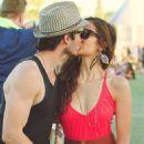 Nina Dobrev and Ian Somerhalder kissed at Coachella (April 15)