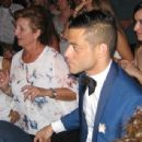 Rami Malek- Wedding Guest in Anavyssos, Greece