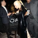 Christina Aguilera – Arrives at 1 OAK Night Club in New York