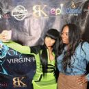 Blac Chyna at the Masquerade Launch for Conceal Virgin Hair in Atlanta Georgia - October 29, 2015