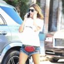 Elisabetta Canalis in Denim Shorts – Out in West Hollywood - 454 x 681