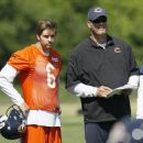 Jay Cutler With Mike Tice - 454 x 381
