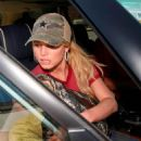 Jessica Simpson - Lunching At Chili's Dinner, Encino, 6/13/2008