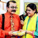 Supriya Pathak and Pankaj Kapur - a beautiful moment - 351 x 257