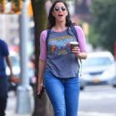 Sarah Silverman out and about in NYC
