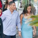 Georgina Rodriguez and Cristiano Ronaldo out in Malaga - 454 x 723