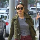 Crystal Reed Shops in Beverly Hills, CA 3/3/2016 - 454 x 644