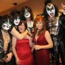 Kiss backstage at the 47th Annual Academy Of Country Music Awards held at the MGM Grand Garden Arena on April 1, 2012 in Las Vegas, Nevada - 454 x 323