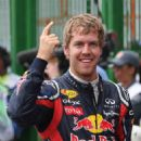 Vettel at F1 Brazilian GP 2011