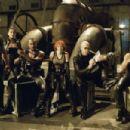 The Bloodpack: Chupa (Matt Schulze), Nyssa (Leonor Varela), Asad (Danny John Jules), Verlaine (Marit Velle Kile), Reinhardt (Ron Perlman) and Snowman (Donnie Yen) in New Line's Blade II - 2002