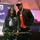 Slash  at the Las Vegas Convention Center on January 9, 2018 in Las Vegas, Nevada - 454 x 359