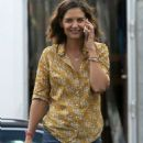 Katie Holmes – Filming 'The Secret' in New Orleans - 454 x 694