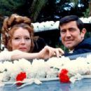 George Lazenby and Diana Rigg