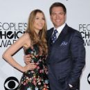 Actor Michael Weatherly attends The 40th Annual People's Choice Awards at Nokia Theatre L.A. Live on January 8, 2014 in Los Angeles, California - 454 x 564