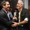 (L-R) Ric Pipino and Nur Khan attend the opening of Pipino New York on May 6, 2009 in New York City - 403 x 594