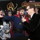 Benedict Cumberbatch - Premiere Of Disney And Marvel's 'Avengers: Infinity War' - Arrivals - 454 x 361