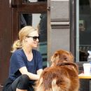 Amanda Seyfried taking her dog, Finn for a walk in NYC (September 13)