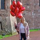 Christine McGuinness – Valentines Day Photoshoot at Peckforton Castle in Cheshire - 454 x 656