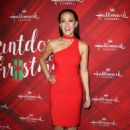 Crystal Lowe – 'Christmas at Holly Lodge' Screening in LA - 454 x 659