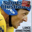 Lance Armstrong - Sports Illustrated Magazine Cover [United States] (4 August 2003)