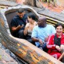 Kourtney Kardashian at Disneyland in Anaheim