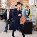 Rosie Huntington Whiteley out in NYC - 454 x 552